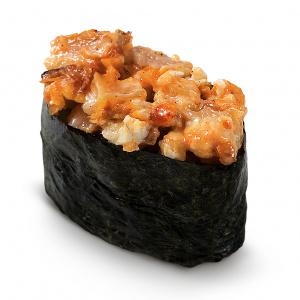 Cпайси суши с угрем