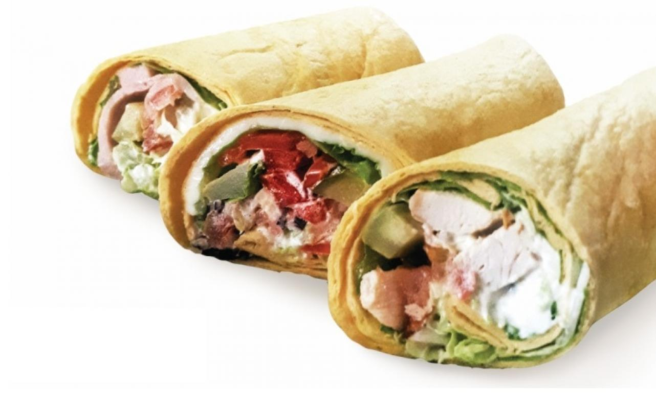 Сендвич овощной