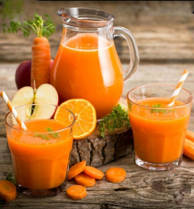 Морковно яблочный фреш
