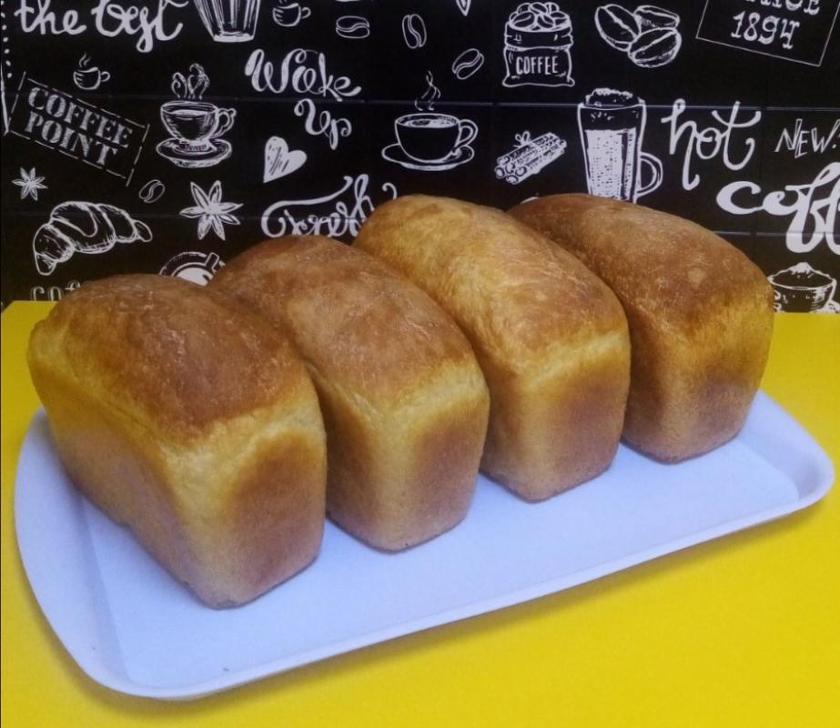 Пшеничный бездрожжевой хлеб