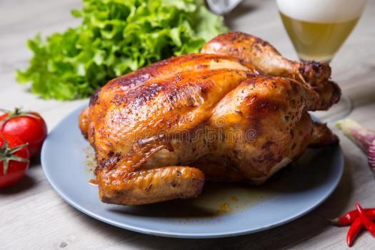 Цыплята гриль