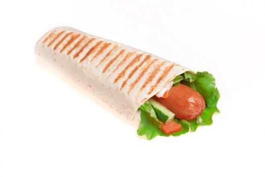 Тортилья  с сосиской