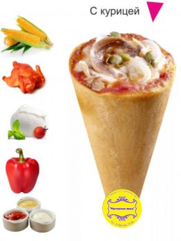 """Коно - пицца """"С курицей"""""""