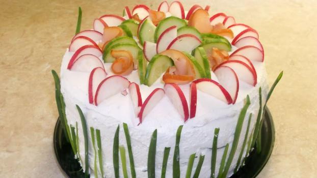 "Салат торт ""Царский"""