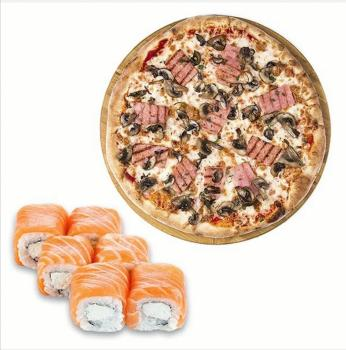"Комбо ""Лайт"" пицца + ролл"
