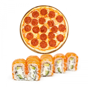 "Комбо ""Лайт 2"" пицца + ролл"