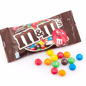 М&М шоколад 45гр.