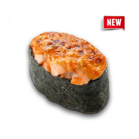 запеченные суши лосось