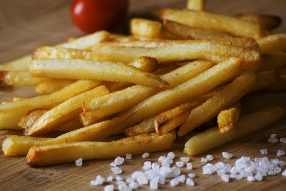 Картофель фри (соус на выбор)