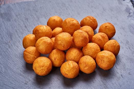Картофельные шарики (соус на выбор)