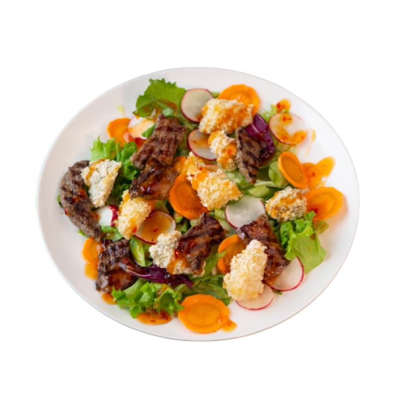 Салат с говядиной