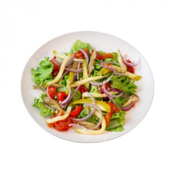 Салат с печёными овощами (Хоровац)