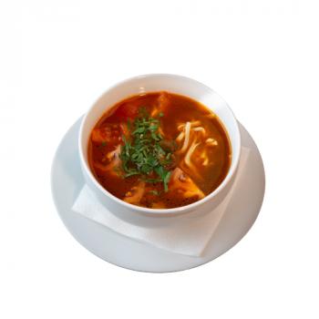 Томатный суп из баранины