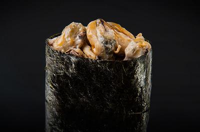 Спайс-суши мидии