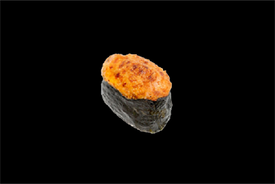 Запеченные-суши краб