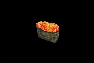Спайс-суши лосось