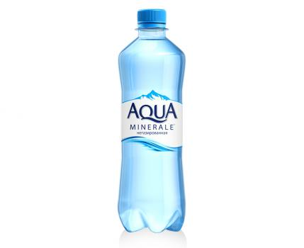 вода аква минерале (без газа) 0,5л