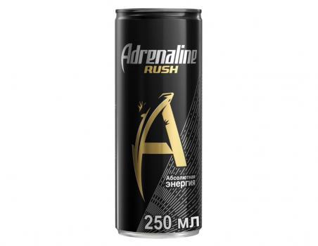 адреналин раш безалкогольный ж/б 0,25л