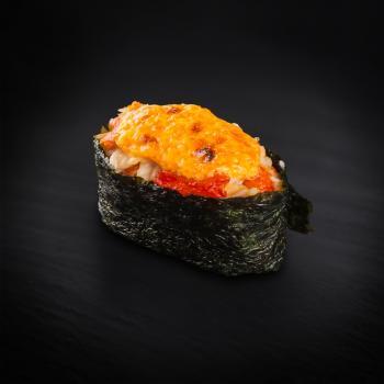 суши запеченный краб