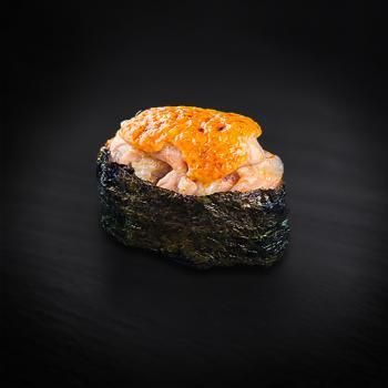 суши запеченная креветка