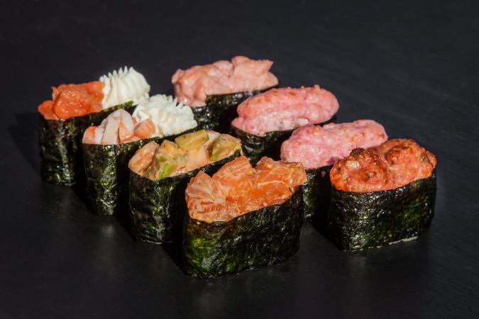 гункан суши сет