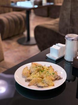 Картошка с грибами и сыром