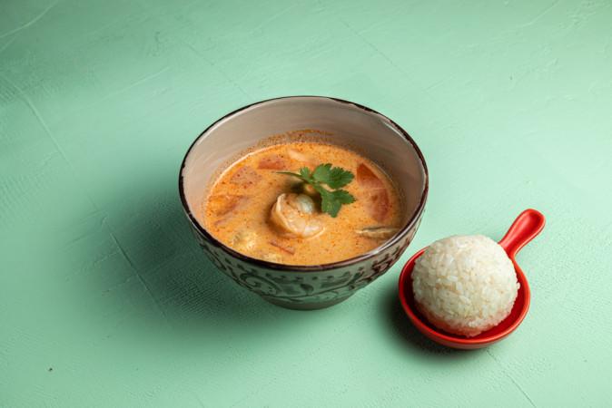 Суп Тайский с креветками