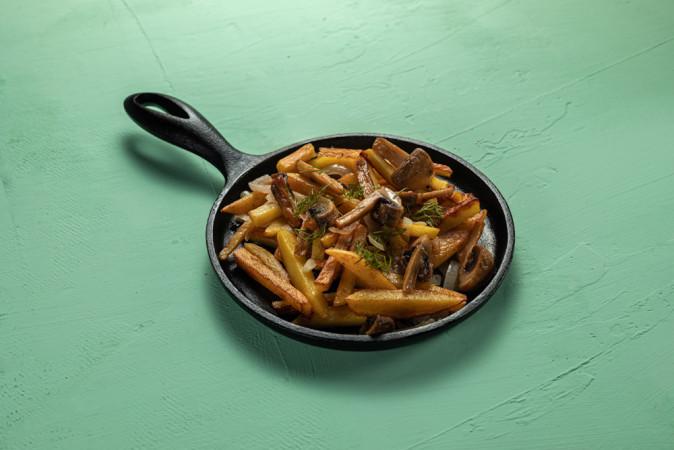 Сковорода картофеля