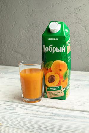 Сок Добрый абрикос 1л