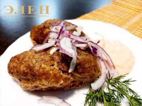 Люля-кебаб (2шт) с соусом