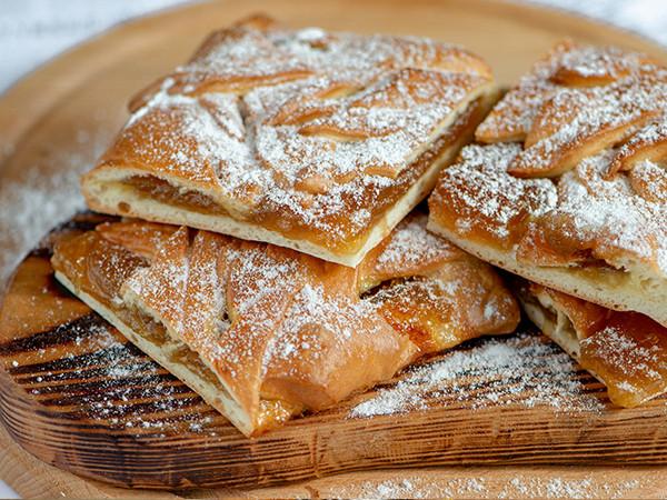 пирог с абрикосом | 1 кг