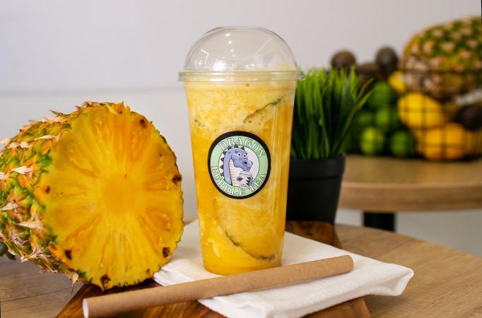 жасминовый чай с ананасом