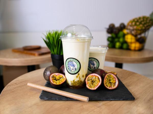 маракуя с йогуртом