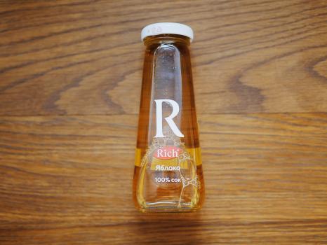 сок яблочный rich 0,2