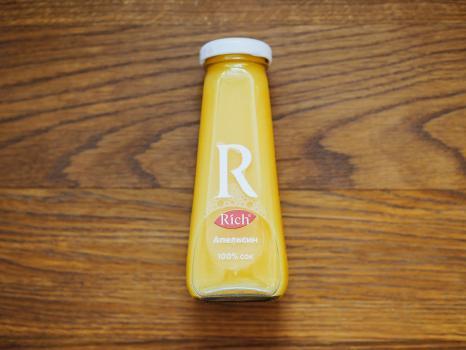 сок апельсиновый rich 0,2
