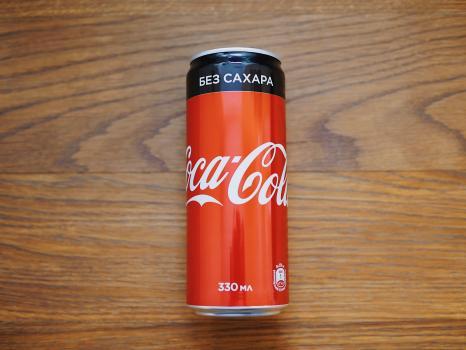 cocacola без сахара 0,33