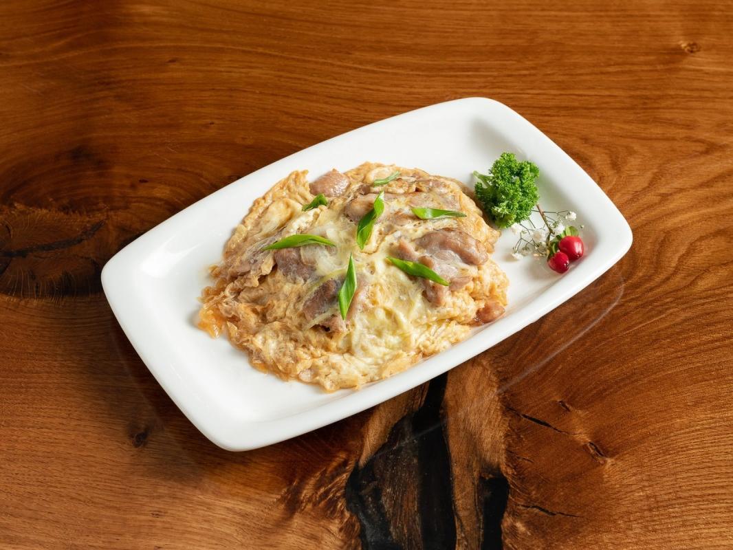 Оякодон (курица на рисе)