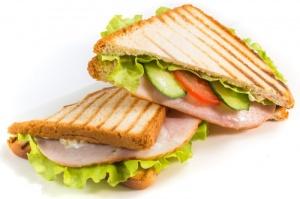 Сэндвич Клаб с карбонадом (2 сэндвича в порции)