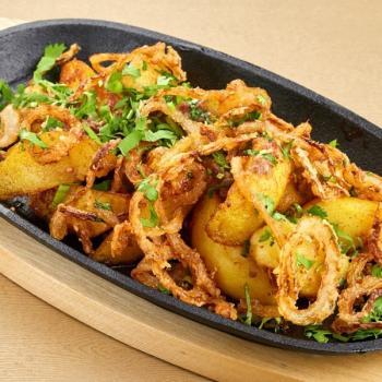 картофель в ореховом соусе