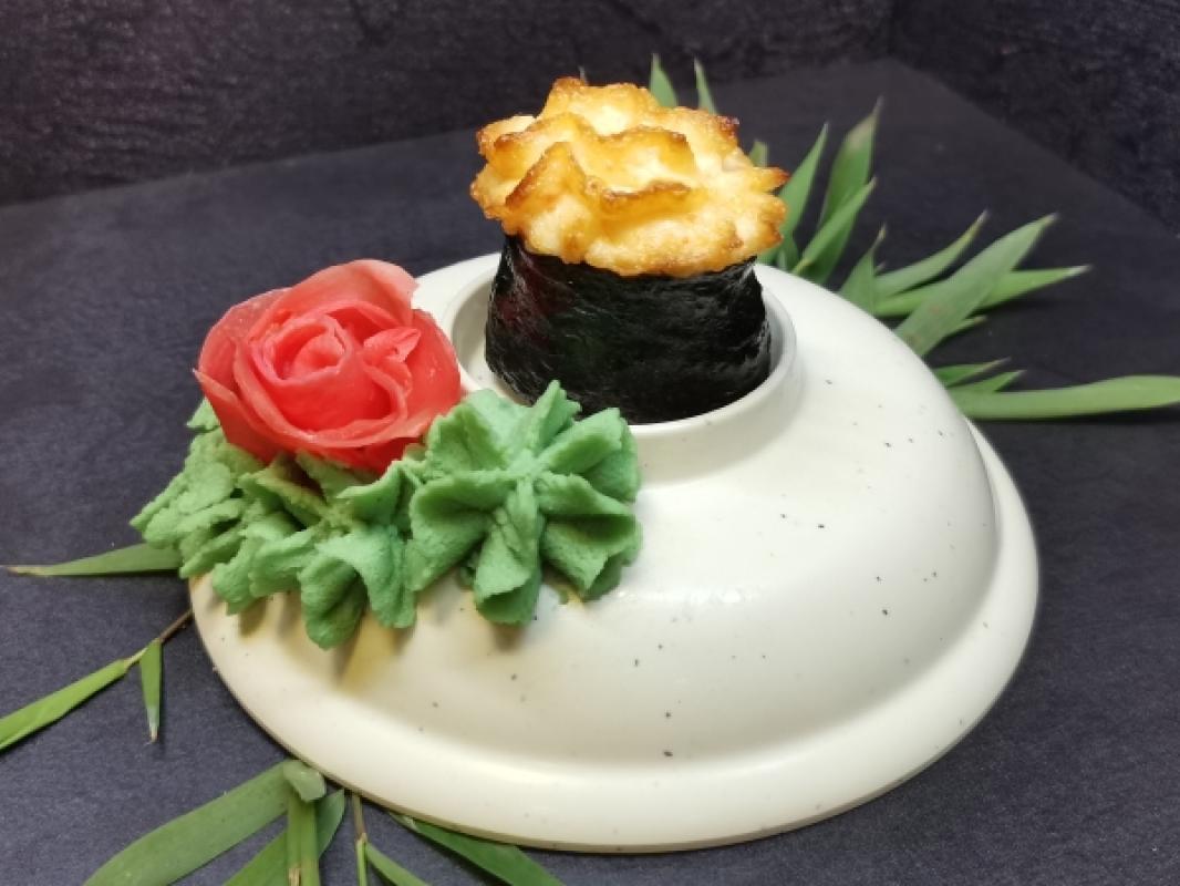 Суши №26 Запеченная креветка