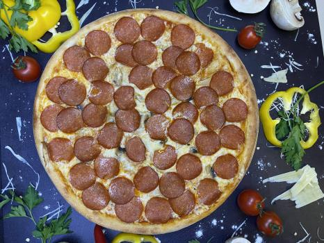 Пицца №231 Пепперони с грибами