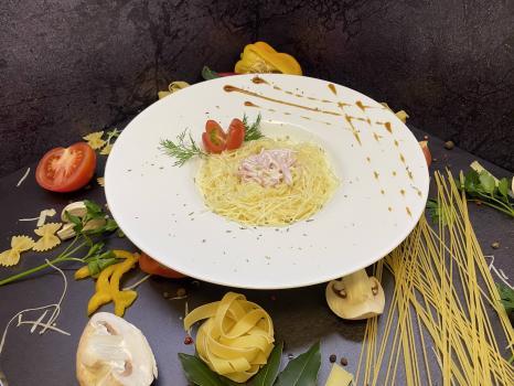 Паста №212 Спагетти с ветчиной