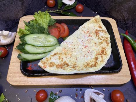 Завтрак №312  Омлет классический из трех яиц
