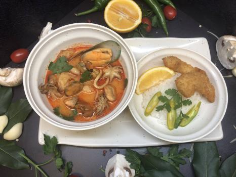 Суп №271 Том Ям с морепродуктами