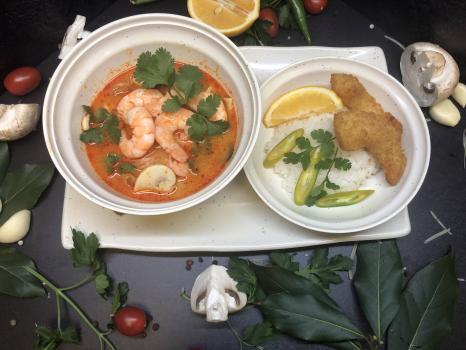 Суп №268 Том Ям с креветками