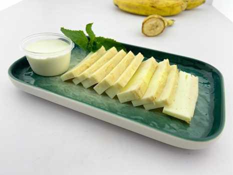 ПП Творожно-банановая запеканка