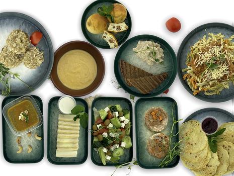 Программа Сила (6 приемов пищи,10 блюд и соус) + 2 бутылочки воды 0,5л в подарок