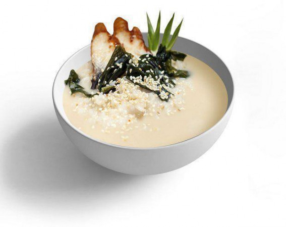 Суп Сливочный с угрём