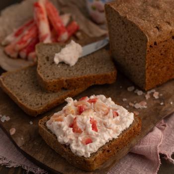 Хлеб Цельнозерновой ржано-пшеничный