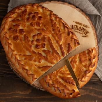 Пирог с мясом и картофелем 1000 гр